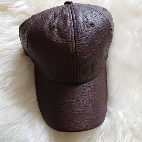 f93462b8 D&Y Accessories | David Young Faux Leather Baseball Cap Dad Hat ...